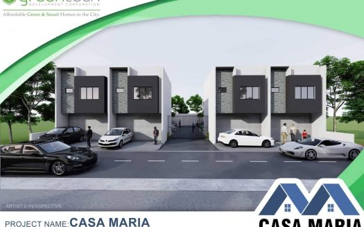 Casa Maria Tabuc Suba, Jaro Residential Townhouses by Greentech | Iloilo Prime Properties